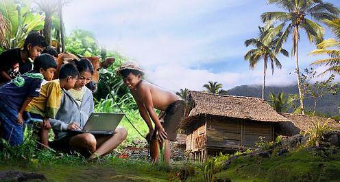 Kemenkominfo Patok 200 Desa Pedalaman Melek Digital