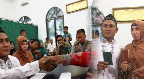 Hasil Jual Sabu, Imron pun Menikahi Kekasihnya di Tahanan