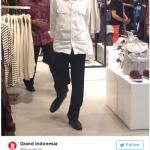 Jokowi Jalan-jalan, Pengunjung Grand Indonesia Heboh