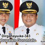 """HUTke-343 Kabupaten Gorontalo, Bupati Nelson Ajak Seluruh Elemen """"Keroyok"""" Pembangunan Daerah"""