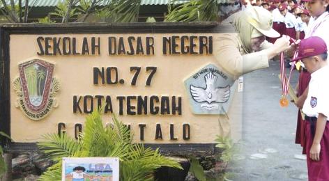 HGN 2016, SDN 77 Gorontalo Adakan Lomba dan Ajak Tingkatkan Kedisiplinan
