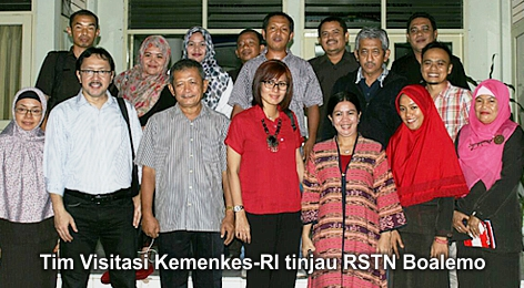 Tim Visitasi Kemenkes Bakal Tempatkan Dokter Ahli di RSTN Boalemo