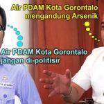 Wawali Gorontalo Imbau Warga Tak Konsumsi Air PDAM, Isman: Air PDAM Jangan Dipolitisir