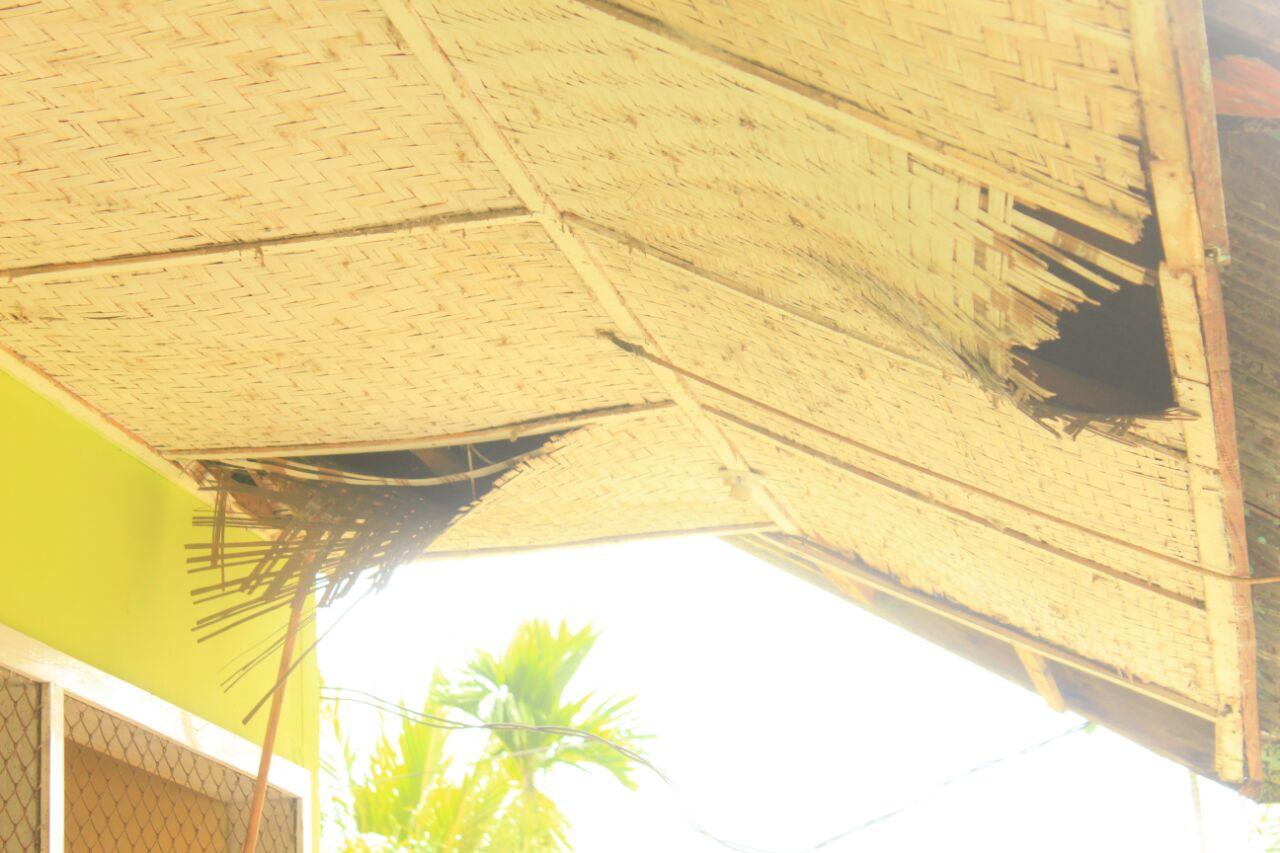 Kondisi plafon SMK PGRI Kota Gorontalo