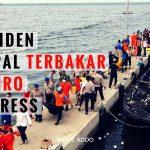 Tabur Bunga dan Doa Bersama Digelar di Lokasi Insiden KM Zahro