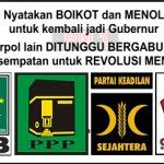 Ahok Kini Diboikot oleh 4 Fraksi di DPRD DKI