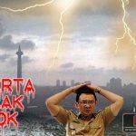 Tiba Banjir Parah, Tanda Jakarta Tolak Ahok-Djarot