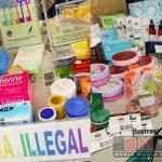 Polisi Gagalkan Penyelundupan 400 Kosmetik Ilegal