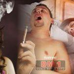 Ngorok Lebih Berbahaya Daripada Merokok