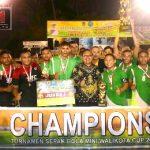 Marten Taha Tutup Ajang Walikota Cup 1