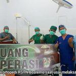 Pertama di Gorontalo, Pasien Ortopedi Sukses Jalani Operasi Hip Replacement di RSTN Boalemo
