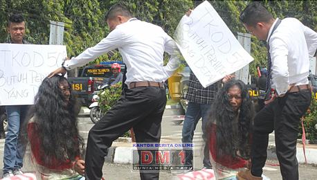 Bupati Boalemo Didemo Terkait TKOD dan Janji Kampanye