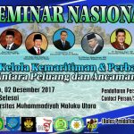 """Seminar Nasional Kemaritiman di Malut, Rizal Ramli """"Didaulat"""" Jadi Keynote Speaker"""