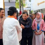 Ibu Negara Sempatkan Diri Bertandang ke BI Gorontalo
