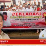 Pertegas Dukungan, Gerindra Kabgor Deklarasikan Prabowo Capres 2019