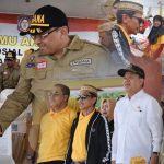 Kabgor Jadi Pusat Temu Akbar 6000 Relawan dan Peluncuran BPNT