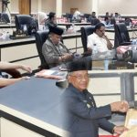 Rapat Paripurna Penyampaian LKPJ Kepala Daerah, Darwis Moridu Kepada DPRD