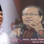 """Rizal Ramli """"Bela"""" Prabowo: Negara Bubar itu bukan Dongeng!"""