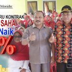 Bupati Darwis Berjanji Naikan 50 % Insentif Tenaga Guru Kontrak dan Tata Usaha