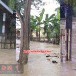 Hujan Deras, Tiga Kecamatan di Boalemo Diterjang Banjir