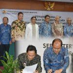 Dianggap Berkinerja Baik, Kabgor Beroleh Hibah Aset BMN dari Menteri PUPR