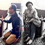 "Viral, Menteri Ketenagakerjaan Bagai ""Budak"" Berlutut di Depan Megawati"