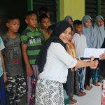 Ke Panti Asuhan, Wartawan AJB Berbagi dengan Anak Yatim Piatu