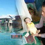 """Temukan Bayi Penderita Gizi Buruk, Babinkamtibmas Desa Bajo """"Bertindak"""""""