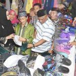 Bupati Gorontalo Tinjau Aktivitas Jual Beli di Pasar Senggol Shoping Centre