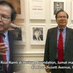 Malam Ini, Rizal Ramli Jadi Pembicara di Heritage Washington DC
