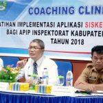 Dalami Aplikasi Siskeudes, 35 Auditor Inspektorat Boalemo Ikut Coaching Clinic di BPKP