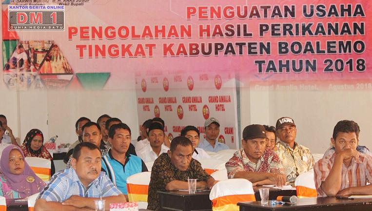 DKP Boalemo Beri Penguatan Usaha Kepada Nelayan