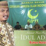 Pengurus Pusat GPII Kecam Iklan Idul Adha di Gorontalo Post