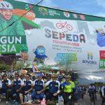 Sukseskan Kegiatan Jelajah Sepeda Nusantara, ASDEP Akui Hamim Pou Sebagai Bupati Berimajinasi Tinggi
