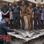 Peletakkan Batu Pertama Pembangunan Gedung UTD oleh Bupati Boalemo