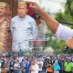 Didesak Mundur dari Jabatan, Bupati Darwis: Saya Masih Fokus Kerja untuk Sejahterakan Rakyat