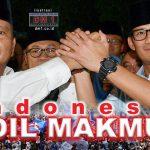 """Koalisi Prabowo-Sandi Bernama """"Indonesia Adil Makmur"""""""