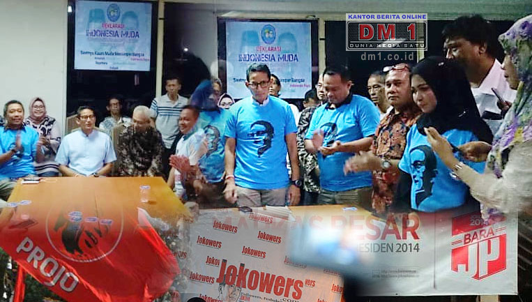 Mengaku Tobat, Sejumlah Kelompok Relawan Jokowi Bertekad Menangkan Prabowo-Sandi pada Pilpres 2019