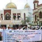 Tokoh-tokoh Masyarakat Boalemo Kecam Aksi 149 di Depan Masjid