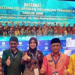 Bupati Darwis Hadiri Rakernas Akuntansi dan PKP 2018 di Jakarta
