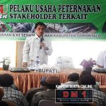 DPKH Kabgor Gelar Kegiatan Temu Pelaku Usaha Peternakan dengan Stakeholder Terkait