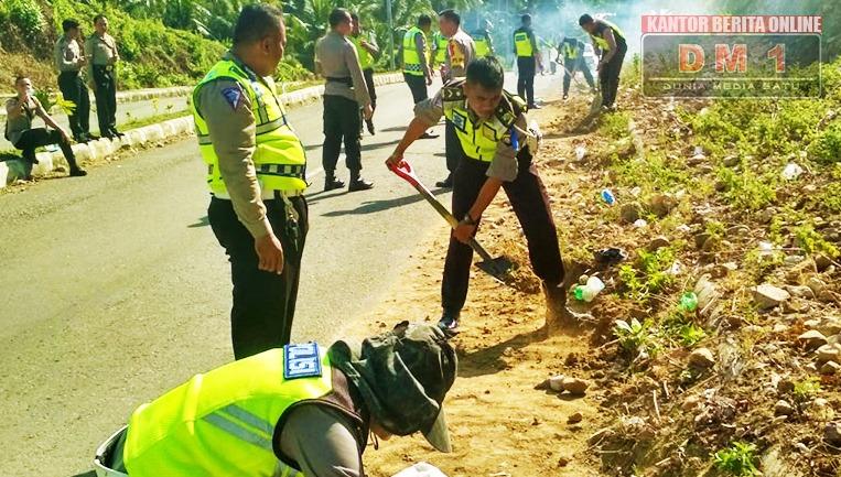 Berpotensi Kecelakaan, Polres Boalemo Adakan Giat Antisipasi