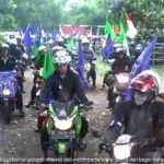 Bogor-Jakarta, 500 Motor Konvoi Bawa Bendera Tauhid