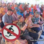 Di Desa Sosial, Dinkes Boalemo Gelar Deklarasi Stop BABS