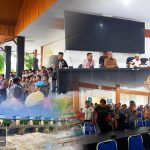 Protes Proyek Waduk, Warga Bulango Ulu dan Utara Adakan Aksi Damai Ke Kantor DPRD Bone Bolango
