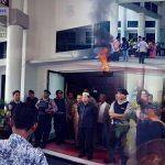 DPRD Kabupaten Gorontalo Merespon Persoalan yang Dituntut Massa Aksi AMMPD