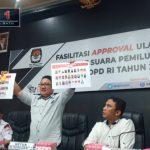 Ukuran Kertas Suara Caleg DPD-RI Dapil Gorontalo Berubah