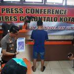 "Penyebar Hoax ""Baku Potong"" Ditangkap, Kapolres Gorontalo Kota: Pelaku Terancam 3 Sampai 10 Tahun Penjara"