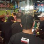 """Ada """"Jokowi"""" dan Emak-emak Nobar Capres di Cafe Ibonk Kota Gorontalo"""