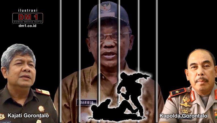 Bupati Darwis Tersangka Penganiayaan, Polda dan Kejati Gorontalo Diminta Lakukan Penahanan